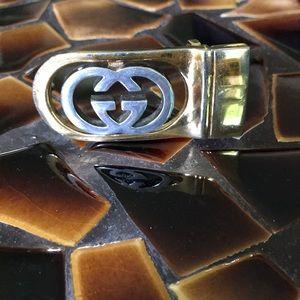 Authentic vintage Gucci belt buckle